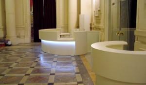 equipement interieur Opéra de Montpellier